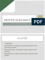 METODE DOKUMENTASI SOAPIER dan SOAPIE.pptx