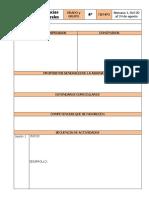 Planeación de 4 Grado Ciencias Formato