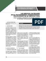 Medidas Cautelares Servicio Civil - Servir