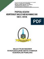 Proposal Maulid