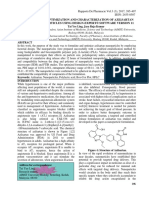 DESIGN, OPTIMIZATION AND CHARACTERIZATION OF AZILSARTAN NANOPARTICLES USING DESIGN-EXPERT® SOFTWARE VERSION 11