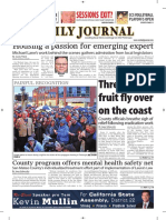 San Mateo Daily Journal 10-29-18 Edition