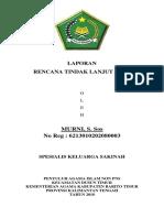 Rencana Tindak Lanjut_murni