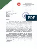 Security Bureau's decision to ban the Hong Kong National Party