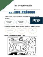 Ficha de Aplicacion El Hijo Prodigo1ro