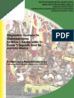 Diagnostico Oportuno De Osteosarcoma en Niños y Adolescentes