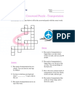 Intermediate Crossword Puzzle Modes of Transportation.pdf