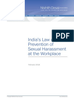 Prevention of Sexual Harassment at Workplace - Nishit Desai brief