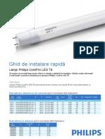Ghid de Instalare CorePro LED