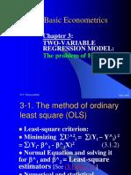 4basic Econometrics Chapter III
