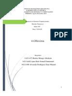 Características Del Software Máxima