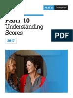 2017 PSAT 10 Answers and Score Conversion