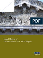 Legal Digest of International Fair Trial Rights