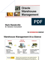 OAUG Oracle WMS Management