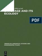 [Trends in Linguistics. Studies and Monographs, Vol. 100] Stig Eliasson, Ernst Håkon Jahr - Language and Its Ecology_ Essays in Memory of Einar Haugen (1997, Mouton De Gruyter).pdf