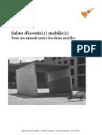 Salon d'écoute(s) mobile(s)