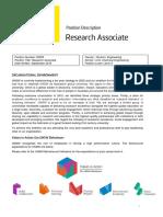 Position Description - FSI Research Associate