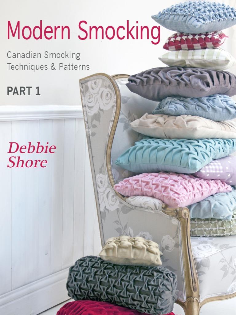 MODSMOCKINGPART1+sample CANADIAN SMOCKING pdf   Publishing   Scissors