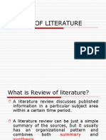 Literature Review Final