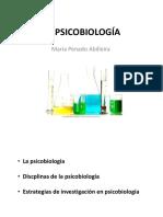 Apuntes de María Penado de Psicobiología UNED