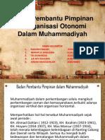 PPT Unsur Pembantu Pimpinan & Organisasi Otonomi Dalam Muhammadiyah-1.pptx