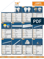 CFL Price List