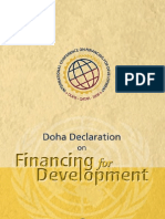 Doha Declaration on Financing For Development
