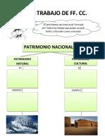 Ficha de Trabajo de Ff. Cc