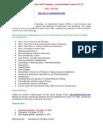 Advanced Nanoscience and Technology