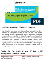 SSC Stenographer Eligibility Criteria | Check Age Limit And Educational Qualification
