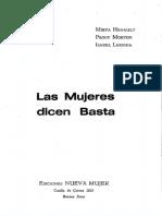 Mirta Henault, Peggy Morton e Isabel Larguía, Las Mujeres Dicen Basta (1972) OCRed