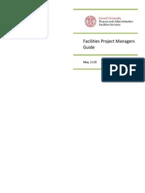 facilities Management Mobilization Plan pdf | Project