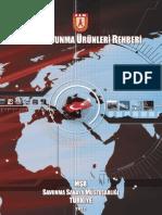 Türk Savunma Ürünleri̇ Rehberi̇