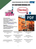 HENKEL EPD