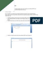 Cara Membuat KOP Surat.docx