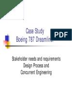 Boeing 787 Dreamliner - Additional Notes SPRING 2014