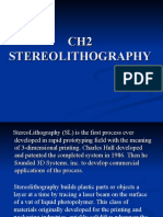 CH2 STEREOLITHOGRAPHY