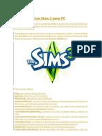 Trucos Para Los Sims 3 Para PC