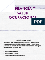 Vigilancia y Salud Ocupacional