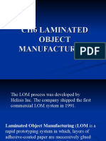 CH6 LAMINATED OBJECT MANUFACTURING