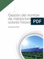 GIM Gestión Del Montaje de Instalaciones Solares Fotovoltaicas