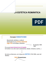 Estética ROMÁNTICA
