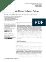 Pengaruh Pijat Pada Pasien Kanker