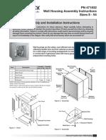 4. Greenheck - Extractor Axiales de Pared, IOM