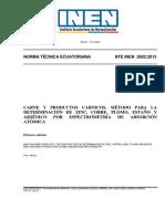 Nte Inen 2682-Espectrometria-Absorcion Atomica