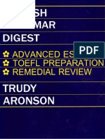 Aronson Trudy English Grammar Digest