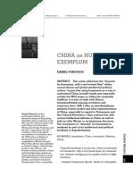 Cult Politics Humanism Essay August 2012
