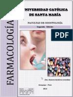 FARMACOLOGIA ODONTOLOGIA segunda fase CARATULA.docx