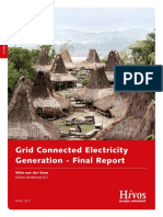 HIVOS 2011-Kema Report Grid Conneced Electricity Generation