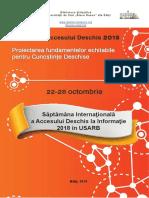 Săptămâna Internaţională a Accesului Deschis la Informaţie  2018 în USARB